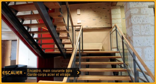 Escaliers - Ouest Serrurerie